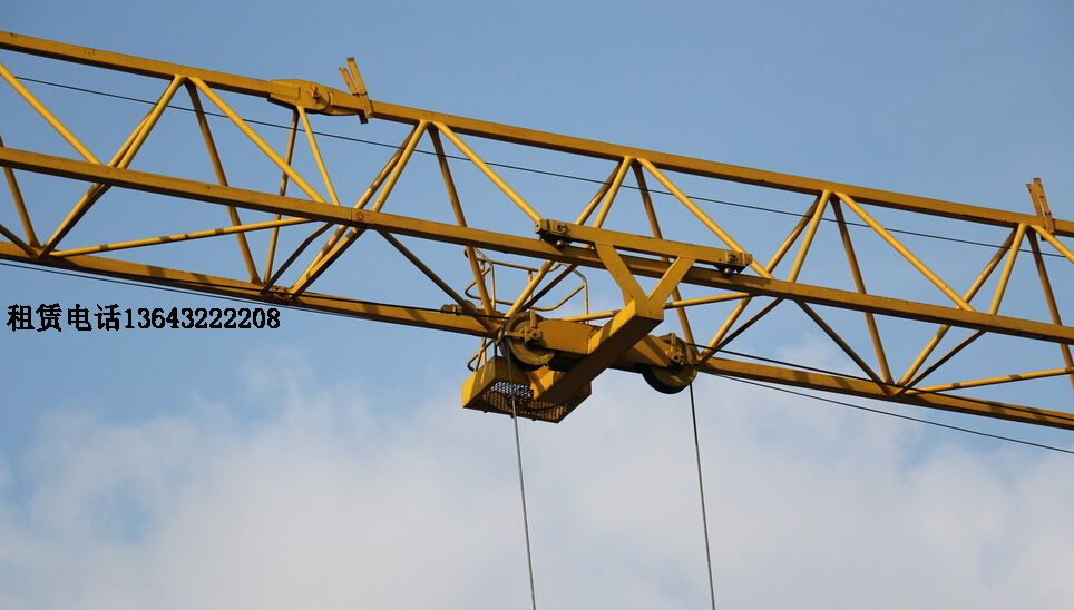 塔吊小车结构图